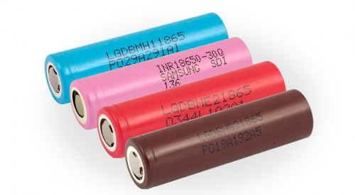 Batteries rechargeables Li-ion